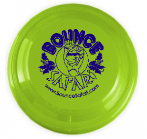 Green Bounce Safari Frisbee